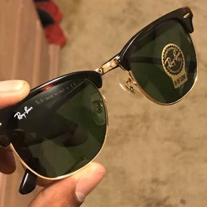 """Brand New Ray-Ban Clubmaster """"Tortoise Shell"""""""